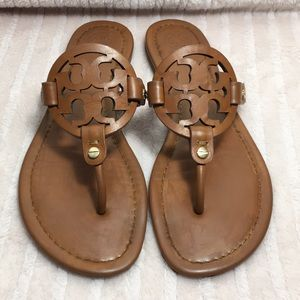 Tory Burch miller sandals size 8 leather
